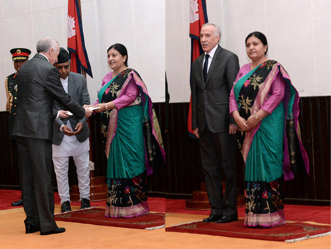H.E. Mr. Hamza Yahia-Cherif's presentation of credentials (NEPAL)