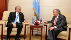 SELLAL HOLDS DISCUSSIONS IN ADDIS ABABA WITH UN SECRETARY GENERAL