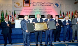 PRESIDENT BOUTEFLIKA HONOURED FOR HIS COMMITMENT TO IMPLEMENTING AFRIPOL
