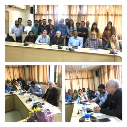 "Talk on ""Algerian – Indian relations: Past and Present"" At School of International Studies - Jawaharlal Nehru University-"