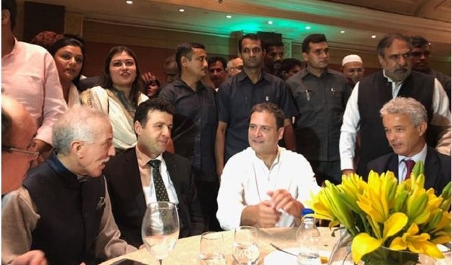 HE. MR. HAMZA YAHIA-CHERIF ATTENDED IFTAR HOSTED BY RAHUL GANDHI