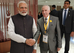 HE. MR. HAMZA YAHIA-CHERIF TOOK PART AT VIBRANT GUJARAT EVENT