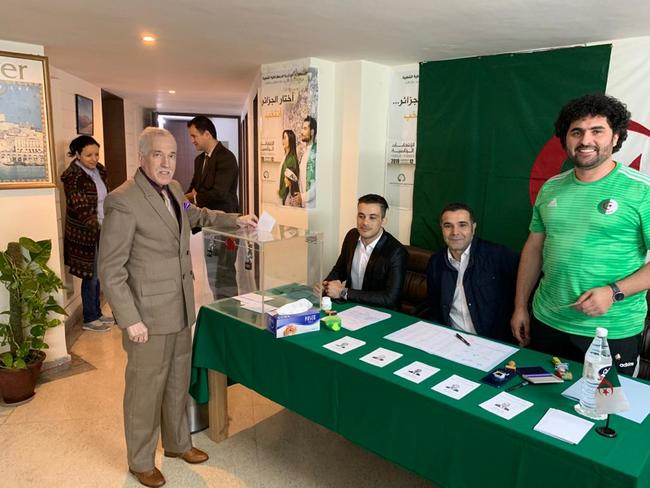 AlGERIAN PRESIDENTIAL ELECTION  December 12, 2019, New Delhi, India