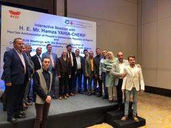 H.E. MR. HAMZA YAHIA CHERIF VISITS BANGALORE