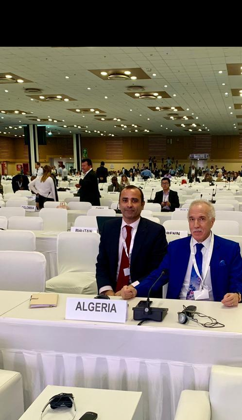 His Excellency, Mr. Hamza YAHIA-CHERIF, participated at the inaugural ceremony of the fourteenth session of the Conference of Parties (COP 14) to the UNCCD.