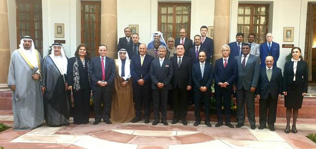 HIS EXCELLENCY ATTENDED LUNCH HOSTED BY HONOURABLE MINISTER OF EXTERNA..
