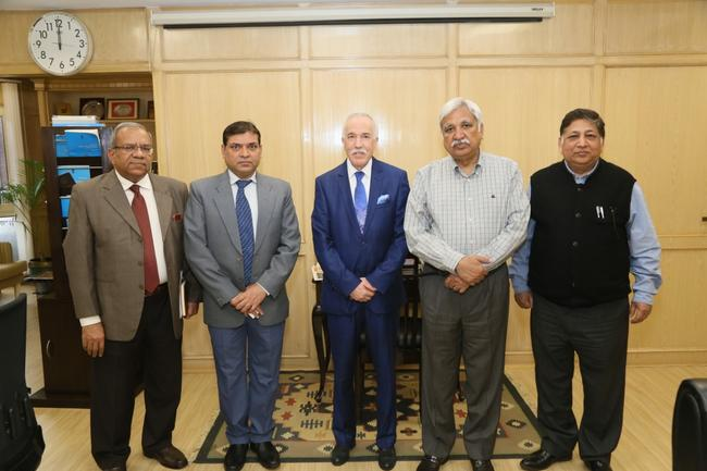 HIS EXCELLENCY HAD MEETING WITH THE CHIEF ELECTION COMMISSIONER, ELECTION COMMISSION OF INDIA.